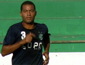 Wellington Monteiro, volante do Guarani (Foto: Reprodução EPTV)