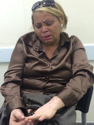 Eva conta que sofreu preconceito do ex-marido, em Goiânia, Goiás (Foto: Paula Resende/ G1)