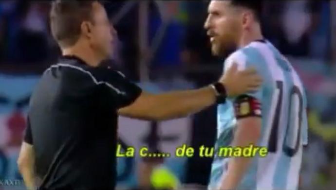 BLOG: Messi xinga bandeirinha brasileiro após falta e fica na bronca até o fim do jogo