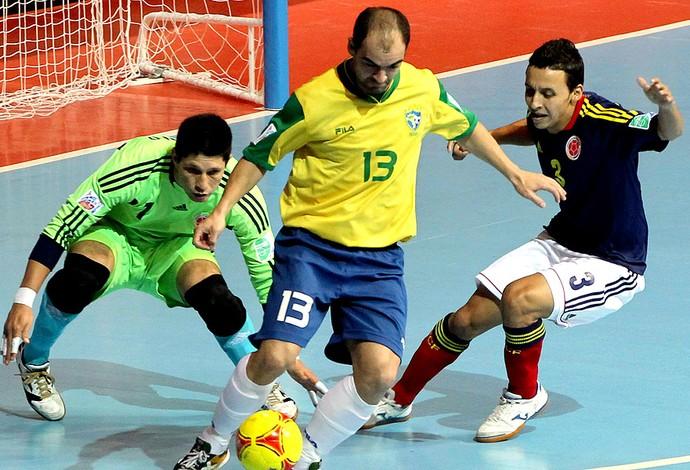 Wilde Brasil futsal Mundial AP (Foto: AP)