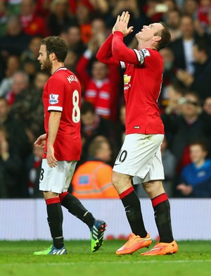 Manchester United x Hull City - gol do Rooney (Foto: AFP)