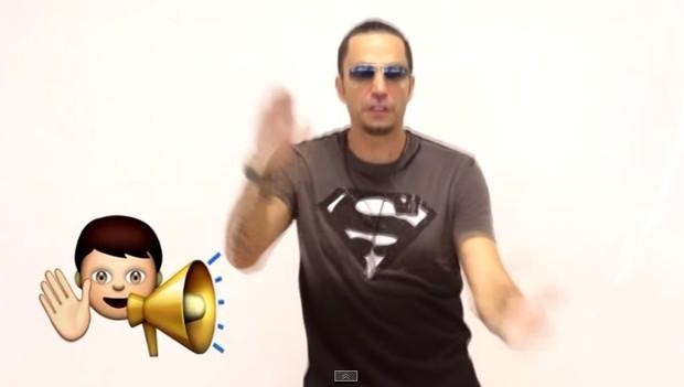 Novo clipe de Latino (Foto: Youtube / Reprodução)