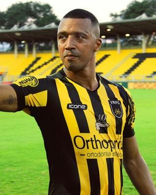 Tiago Amaral, atacante do Volta Redonda (Foto: Sérgio Faria/VRFC)