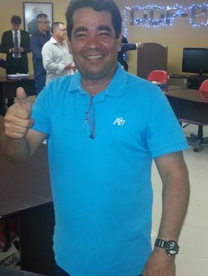 Amadeu Rodrigues, presidente da Federação Paraibana de Futebol (Foto: Phelipe Caldas / GloboEsporte.com/pb)