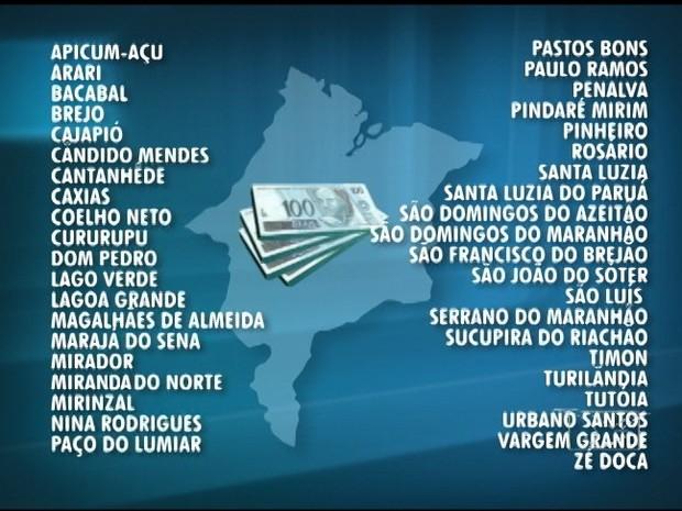 Investigações apontam que 41 cidades maranhenses estiveram envolvidas com agiotagem (Foto: Arte/TV Mirante)