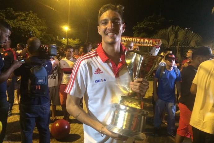Thiago Flamengo copinha (Foto: Monique Silva)