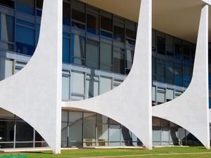 Palácio do Planalto - Brasília (DF) #Obras_Niemeyer (Foto: Marcelo Brandt/G1)