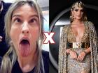 Luana Piovani critica look de Thássia Naves no baile de carnaval da Vogue