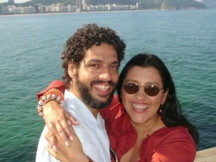 Esteváo Ciavatta e Regina Casé  (Foto: Arquivo pessoal)