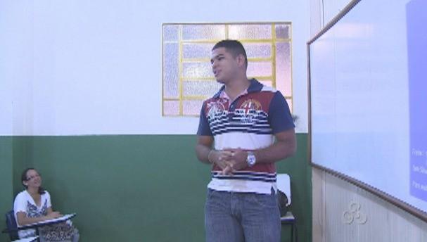 Professores dão dicas de preparação ao longo de todo o curso (Foto: Bom Dia Amazônia)