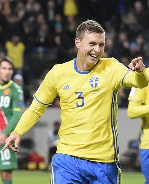Victor Lindelof Suécia (Foto: AFP)