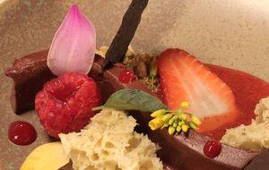 Chocolate flexível e diversas texturas