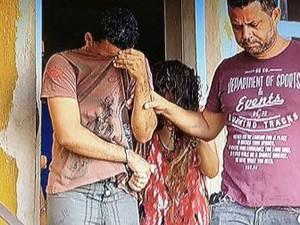 Homem e mulher foram autuados em flagrante (Foto: Inter TV/Reprodução)