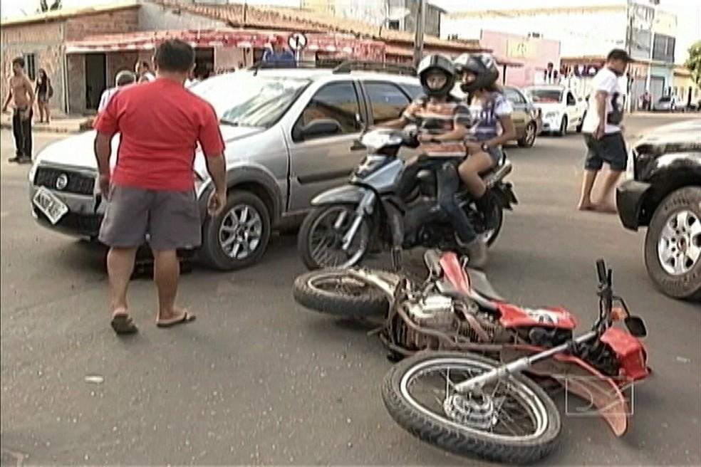 Ceará tem queda de 30,6% no número de indenizações do DPVAT em 2016, aponta seguradora (Foto: Reprodução/TV Mirante)