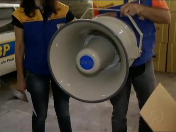 Barra do Piraí, RJ, receberá 60 sirenes (Foto: Reprodução/TV Rio Sul)
