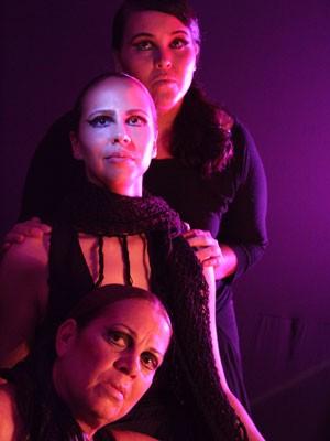 'A Filha do Teatro' é encenada no Teatro Arraial, no Recife (Foto: André Barreto/Divulgação)