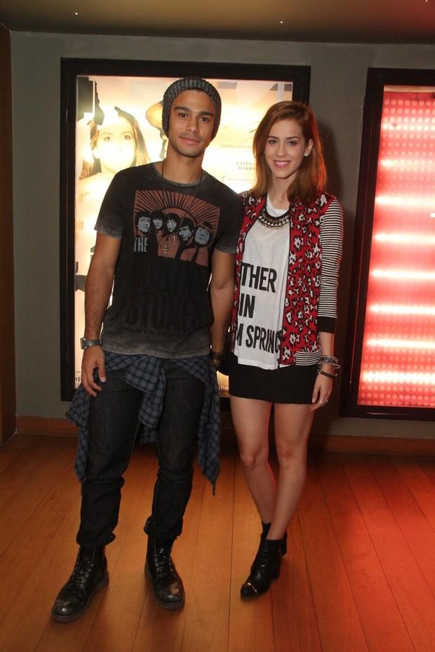 Sergio Malheiros com Sophia Abraão (Foto: Thyago Andrade / Foto Rio News)