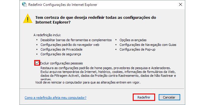 Não esqueça de excluir seus dados pessoais do navegador (Foto: Reprodução/Paulo Alves)