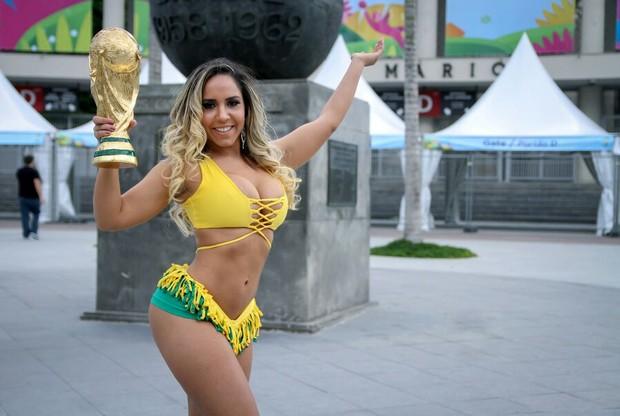 Mulher Melão (Foto: Daniel Pinheiro/Divulgação)