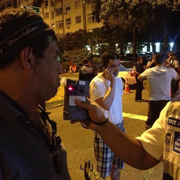 Sérgio Mallandro é parado em blitz da Lei Seca no Rio (Foto: Instagram/ Reprodução)