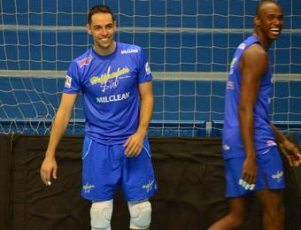 Levantador Rapha Vôlei Taubaté (Foto: Filipe Rodrigues/GloboEsporte.com)
