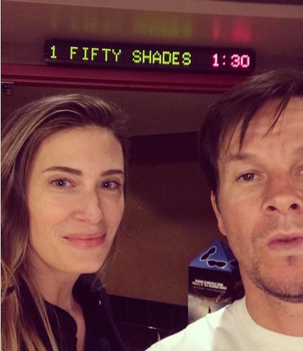 O ator Mark Wahlberg com a esposa, a modelo Rhea Durham (Foto: Instagram)
