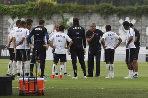 Tite jogadores Corinthians (Foto: Daniel Augusto Jr / Ag. Corinthians)