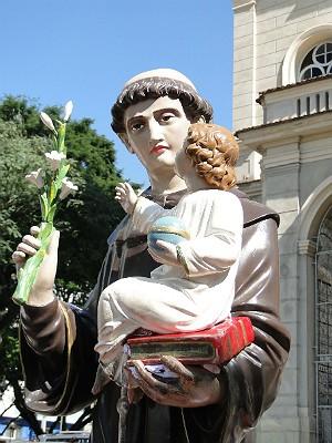 Santo Antônio Catedral Juiz de Fora 5 (Foto: Assessoria de Comunicação Catedral JF/ Divulgação)
