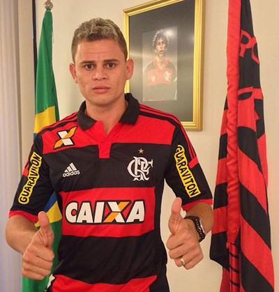 Jonas, Flamengo (Foto: Twitter)