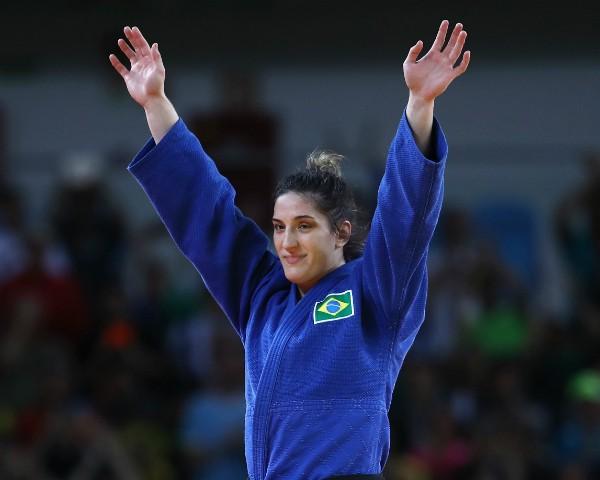 Mayra Aguiar conquistou medalha de bronze no judô (Foto: Getty Images)