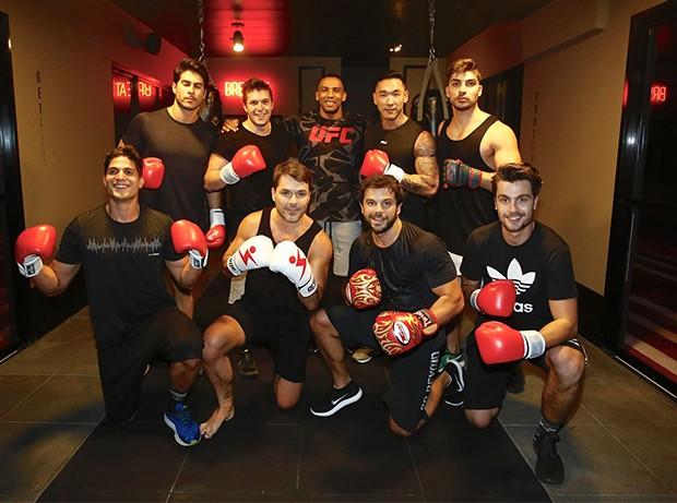 Equipe masculina (Foto: Thiago Bernardes/ Ed. Globo)
