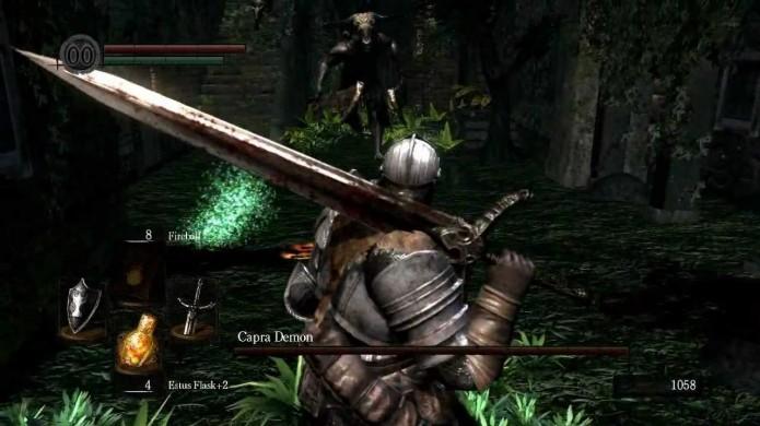 Use sua armadura mais pesada e arma mais poderosa (Foto: Reprodução/Youtube)