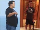 Foco, força e fé! Eles mudaram o corpo com alimentação e exercício