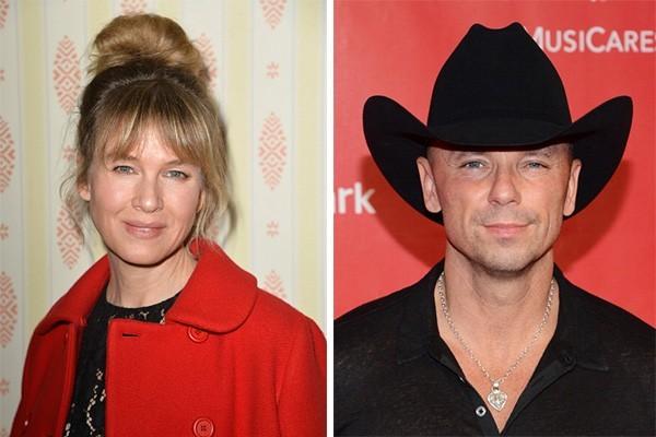 Renee Zellweger e Kenny Chesney (Foto: Getty Images)