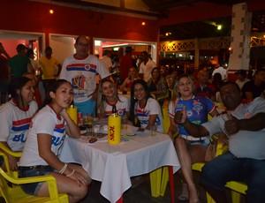 Torcida Lobos do Cerrado acompanhou a partida do VEC na Copa do Brasil (Foto: Lauane Sena)