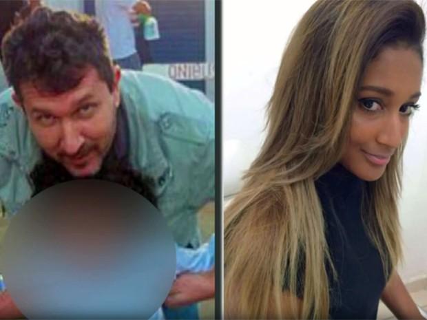 Márcio Antônio de Carvalho, de 51 anos, e Claudineia Fátima de Moraes, de 32 anos: casal deixou um filho de 10 anos; Lavras, MG (Foto: Reprodução/EPTV)