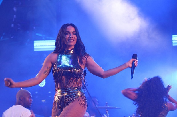Anitta  (Foto: Rogerio Fidalgo/ AgNews)
