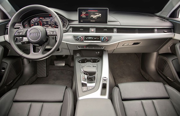 Interior do Audi A4 (Foto: Fabio Aro / Autoesporte)