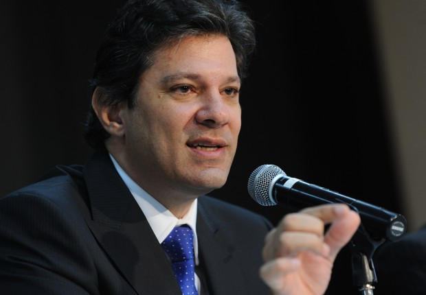 O prefeito de São Paulo, Fernando Haddad (PT) (Foto: Wilson Dias/Agência Brasil)