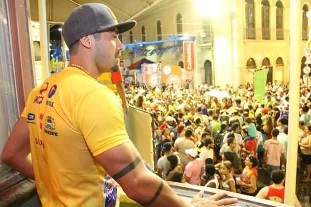 Yuri em Recife (Foto: ONOFRE VERAS E THIAGO MATTOS/AGNEWS)