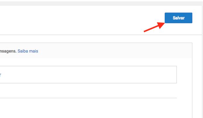 Opção para salvar as configurações de filtro em comentários de um canal no YouTube (Foto: Reprodução/Marvin Costa)