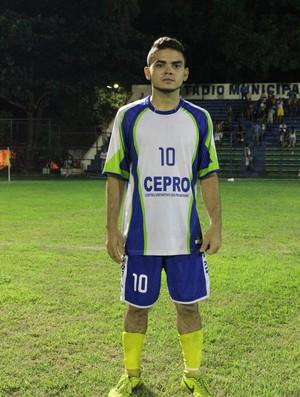 Diego, camisa 10 do Promorar (Foto: Wenner Tito/Globoesporte.com)