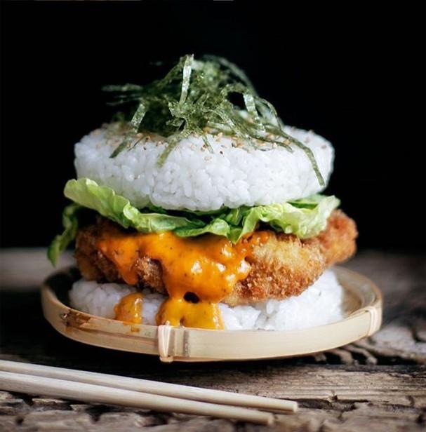 Sushi Burger  (Foto: Reprodução)