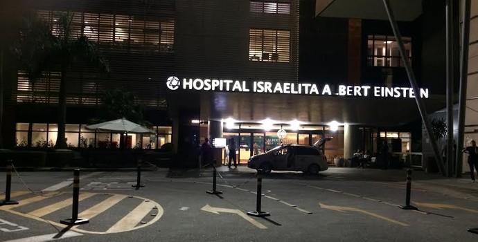 hospital albert einstein pelé (Foto: Carlos Augusto Ferrari)