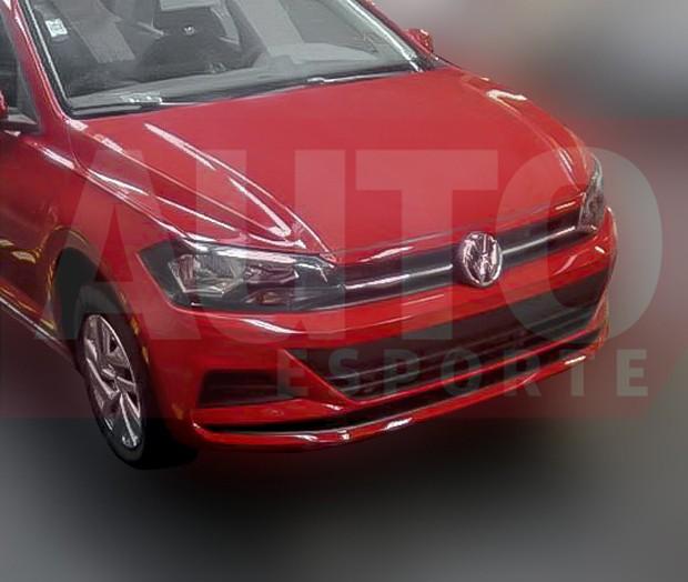 Volkswagen Virtus aparece completamente sem camuflagem (Foto: Reprodução / Autoesporte)
