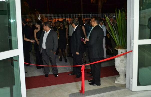 Inauguração da Inter TV dos Vales (Foto: Pedro Samora/G1 dos Vales de Minas Gerais)