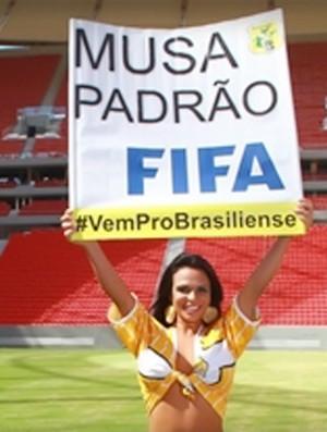 musa brasiliense mané garrincha   (Foto: Divulgação)