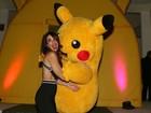 Luciana Gimenez 'ataca' Pokémon na festa de aniversário do filho Lorenzo