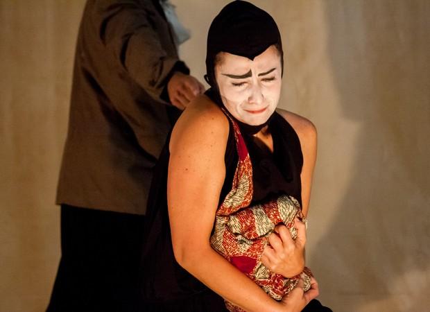 Em cena, a atriz Flávia Bertinelli (Foto: Divulgação)