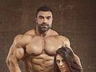 Carol Saraiva posa com marido atleta e os dois impressionam